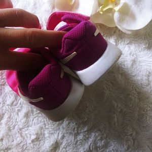 Nike Shoes - Nike snickers pink purple girls toddler